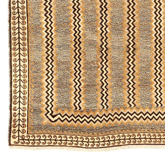 Persian Antique Persian Area Rug Gabbeh Design For Sale - Image 3 of 5
