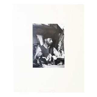 Male Mercantile Black and White Photo For Sale