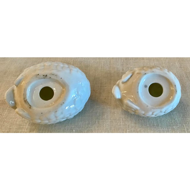 Ceramic Vintage Ceramic White Doves - a Pair For Sale - Image 7 of 8