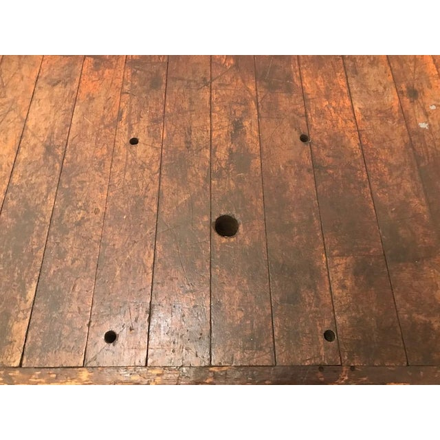 20th Century Industrial Workbench or Console For Sale - Image 4 of 12