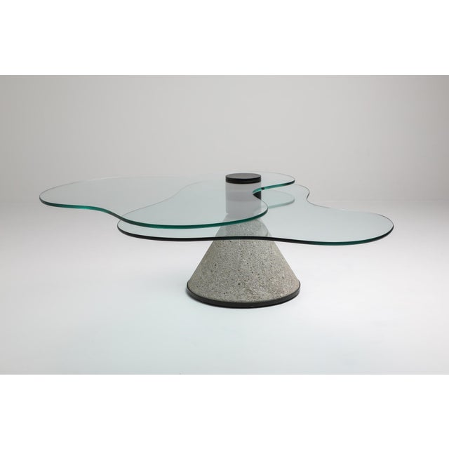 Postmodern Coffee Table in the Manner of Saporiti - 1980s For Sale - Image 6 of 10