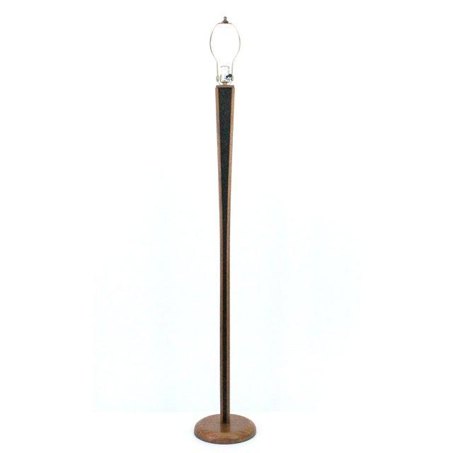 Mid-Century Modern Teak Floor Lamp - Image 3 of 9
