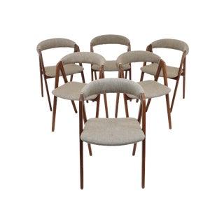 Danish Teak Dining Chairs - Set of 6