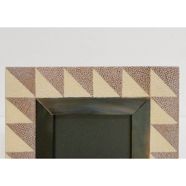 Asian Shagreen and Horn Photo Frame by Fabio Ltd For Sale - Image 3 of 6
