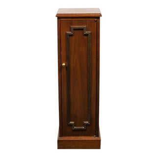 Classical Small Wood Swing Door Storage Cabinet For Sale