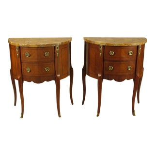 20th Century Louis XV Style End Tables - a Pair For Sale