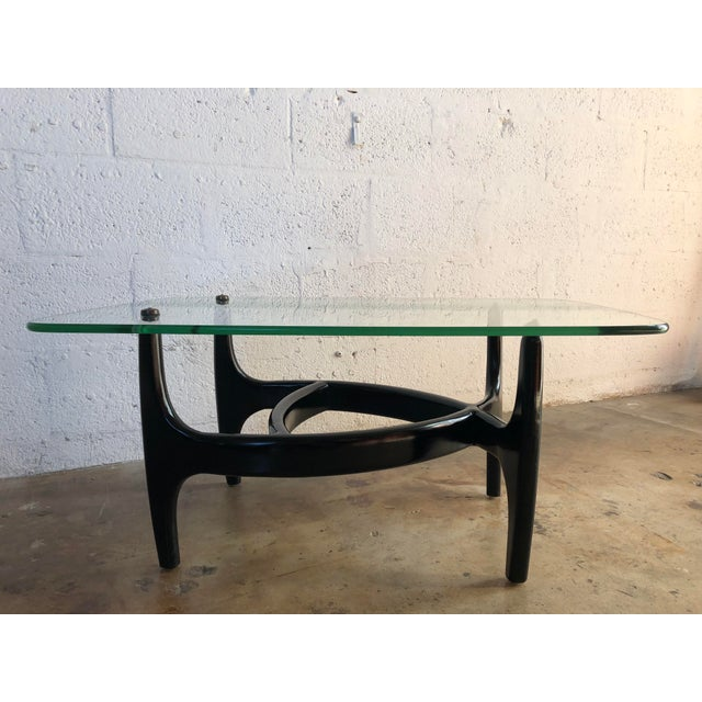 Adrian Pearsall Vintage Mid Century Modern Adrian Pearsall End Table For Sale - Image 4 of 9