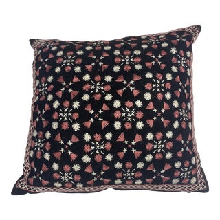 Hand Stitched Pillow For Sale