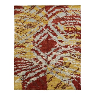 Contemporary Moroccan Rug With Abstract Expressionism - 10'04 X 13'01 For Sale