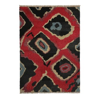 New Colorful Contemporary Tulu Shag Area Rug With Postmodern Memphis Style For Sale