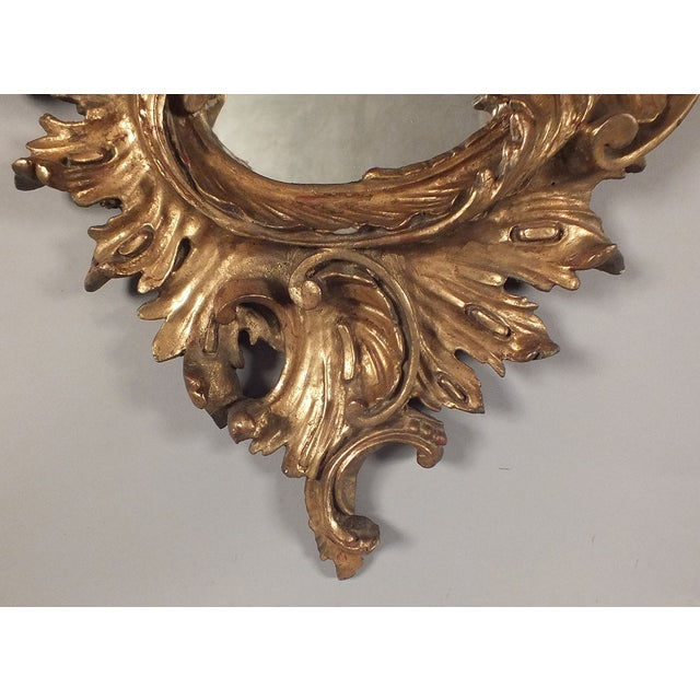 Italian Rococo Gilt Resin Wall Mirrors - A Pair - Image 5 of 7