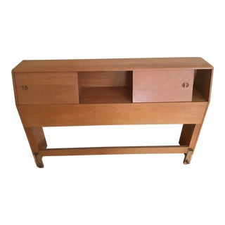 1960s Mid-Century Modern Heywood Wakefield Headboard/Bookcase For Sale
