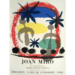"1959 Joan Miro ""Constellations"" Poster For Sale"