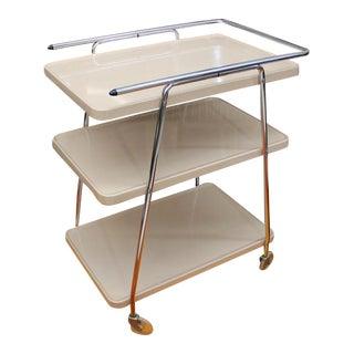 Mid Century Modern Cosco Hamilton tea cart bar cart