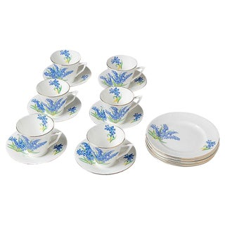 Floral China Set - Set of 18