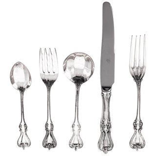 Sterling Flatware, Service for 12/5 Piece Setting For Sale