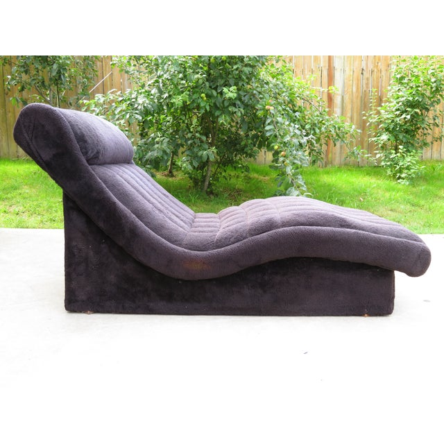 1970s Vintage Adrian Pearsall Style Wave Chaise For Sale - Image 11 of 11