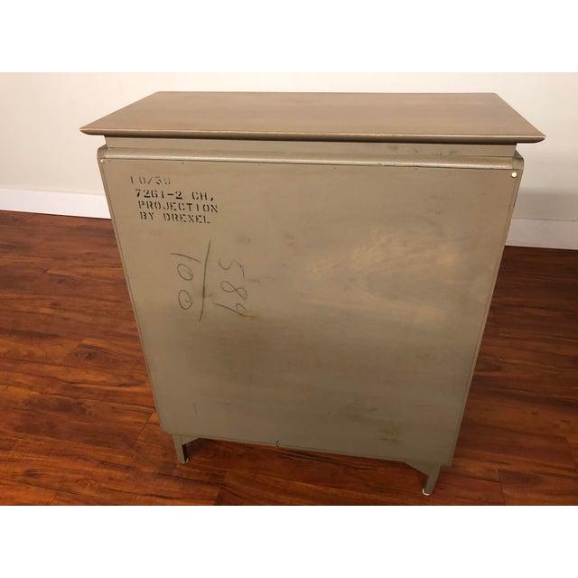 John Van Koert Drexel Projection 1959 Highboy Dresser For Sale - Image 10 of 12