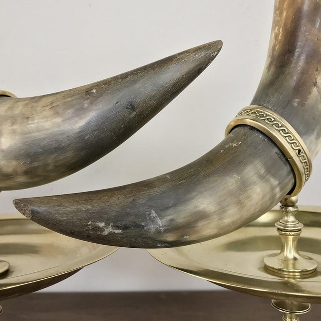 Pair 19th Century Bronze-Mounted Horn Bookends For Sale - Image 4 of 11