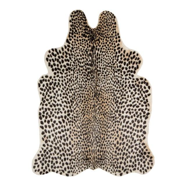 "Erin Gates by Momeni Acadia Cheetah Multi Faux Hide Area Rug - 5'3"" X 7'10"" For Sale"
