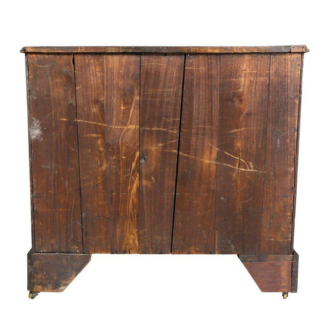 Brown George III Mahogany Bachelors Chest For Sale - Image 8 of 10