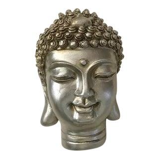 Silver Color Buddha Head