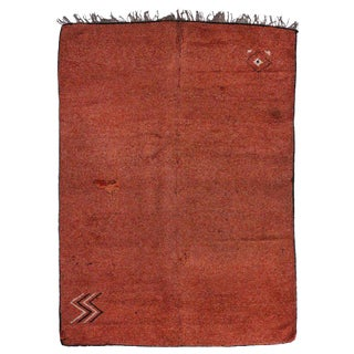 20th Century Moroccan Berber Rug - 5′6″ × 7′8″ For Sale