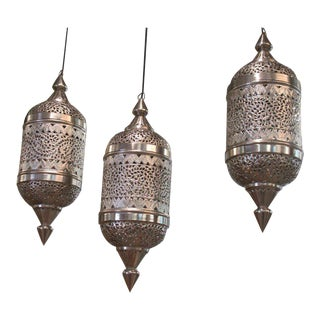 Marrakesh Moroccan Pendants - Set of 3 For Sale