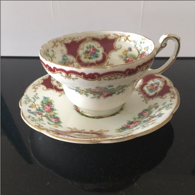 Foley China Tea Cup and Saucer - Image 2 of 6