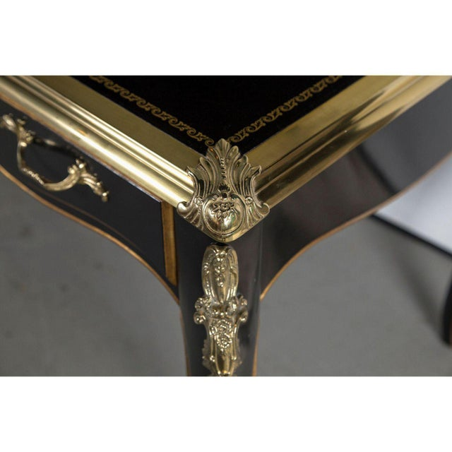 Early 21st Century Baker Collector's Edition Louis XV Bureau Plat / Writing Desk For Sale - Image 5 of 11