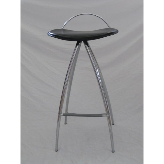 Cattelan Italian Leather Counter Stools- Set of 3 - Image 8 of 9