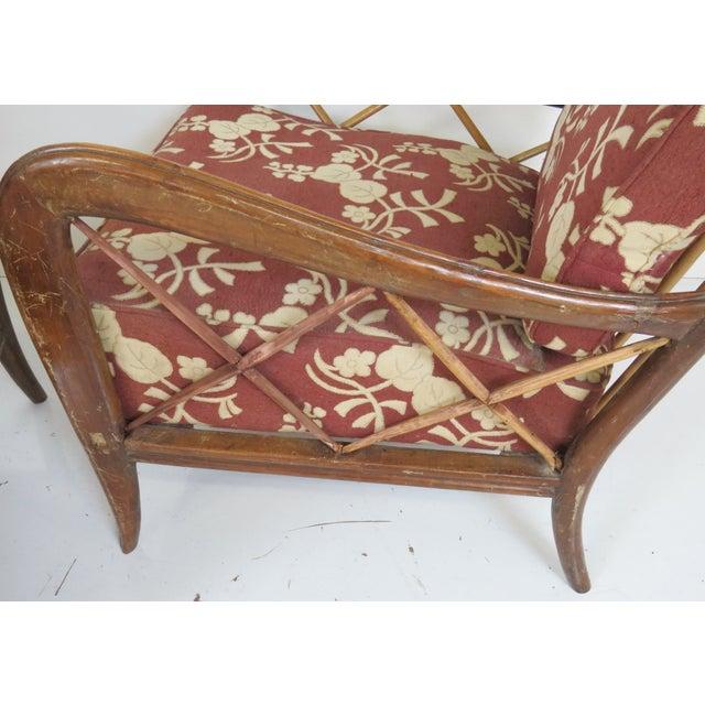 Paolo Buffa Style Modern Lounge Chairs - Pair - Image 3 of 4