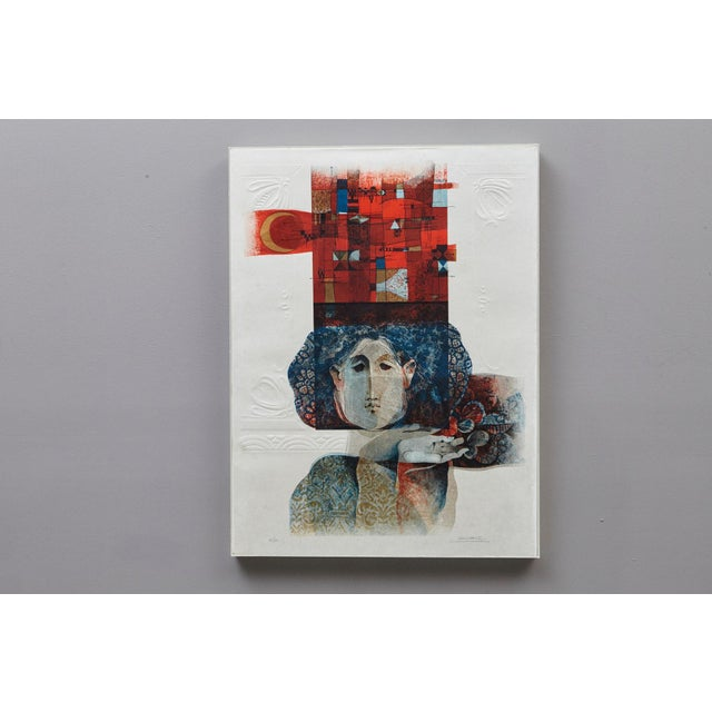 Alvar Sunol Munoz-Ramos, Untitled, Signed and Numbered, # 63/80, 1980 For Sale - Image 4 of 12
