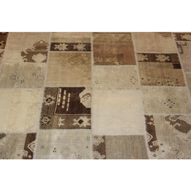 Turkish Multi-Colored Patchwork Rug - 8' x 10' - Image 3 of 7