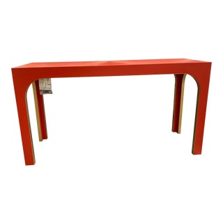 Minimalist Highland House Console Table For Sale