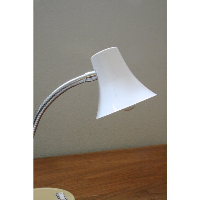 Mid 20th Century Mod Gooseneck Desk Lamp For Sale - Image 4 of 6