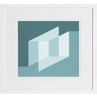 Josef Albers - Portfolio 2, Folder 25, Image 1 Framed Silkscreen For Sale