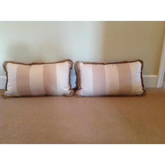 Custom Designed Lumbar Pillows - Pair - Image 3 of 8
