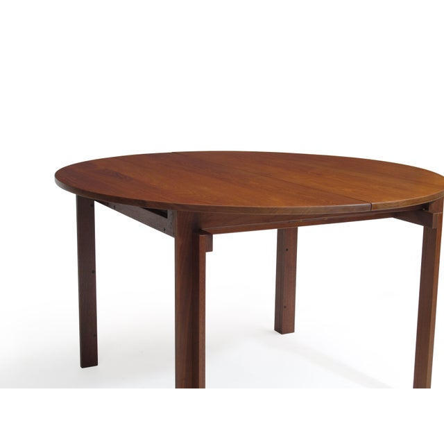Excellent Peter Hvidt Solid Teak Danish Dining Table Decaso