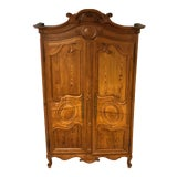 Image of Late 19th Century Antique French Armoire For Sale
