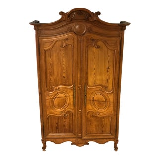 Late 19th Century Antique French Armoire For Sale