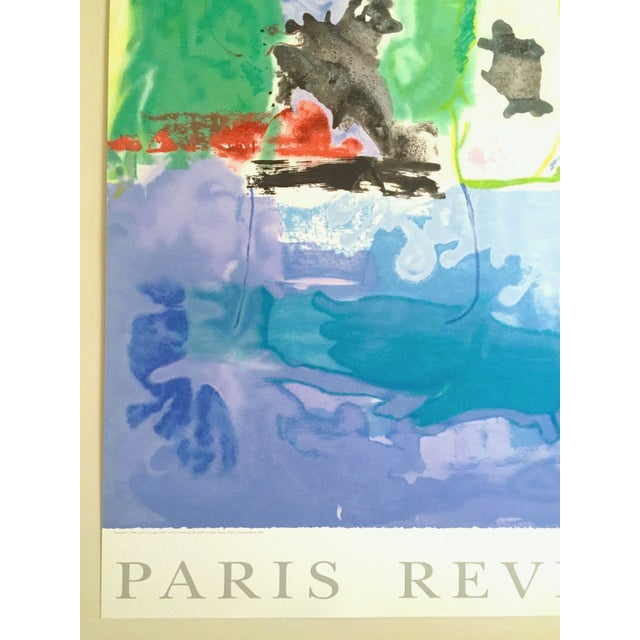 "Helen Frankenthaler Rare Ltd Edtn Hand Pulled Original Silkscreen Print "" West Wind "" 1996 For Sale In Kansas City - Image 6 of 13"