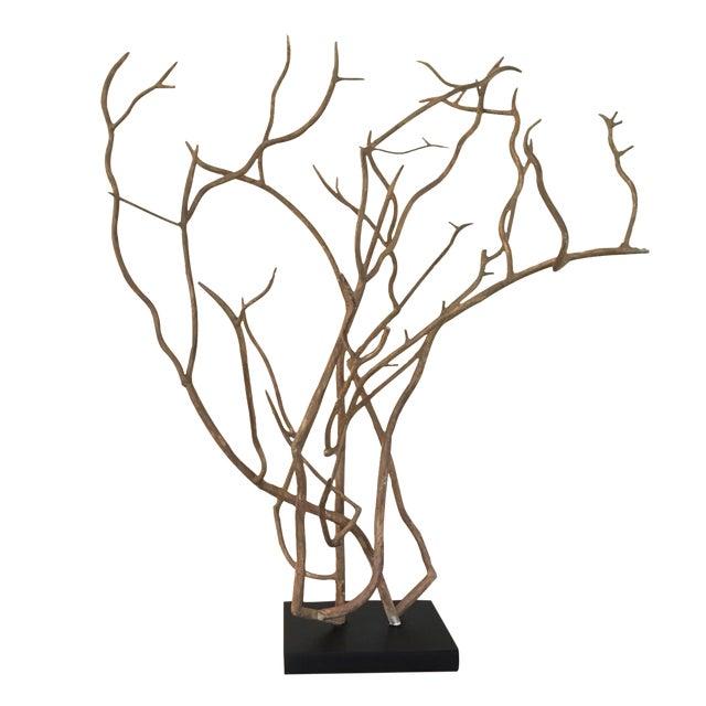 Arteriors Dunston Iron Tree Sculpture - Image 1 of 4
