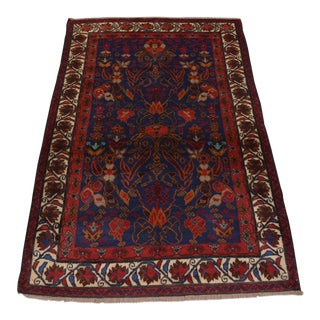 Tribal Hand Knotted Turkish Rug For Sale