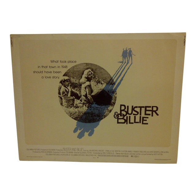 """Buster & Billie"" Vintage Movie Poster 1974 For Sale"