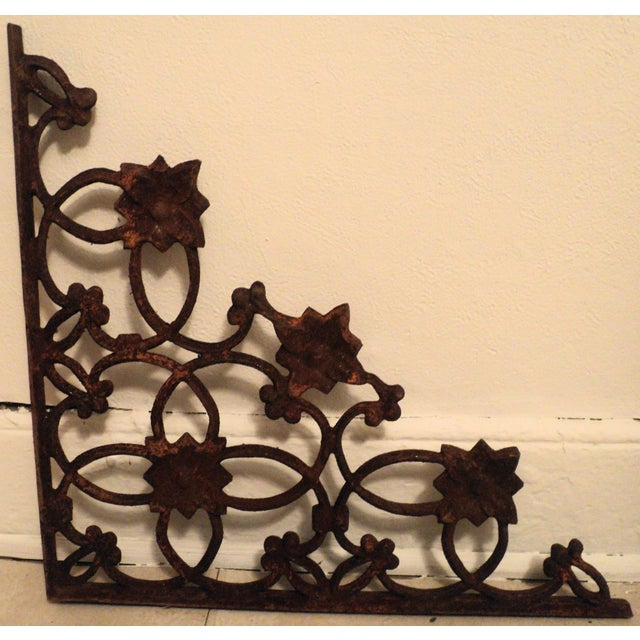 Fine Cast Iron Wall Decor Antique Adornment - Wall Art Collections ...