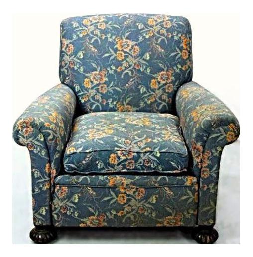 Beau 19th Century Antique Lounge Chair