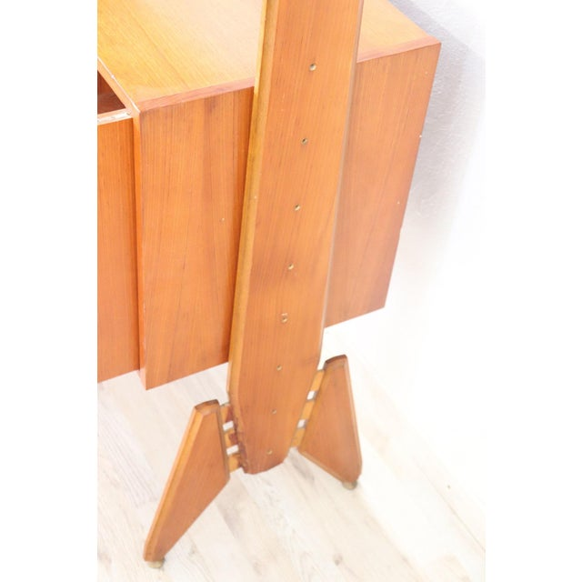 Italian 20th Century Italian Vintage Design Bookcase, 1970s For Sale - Image 3 of 11