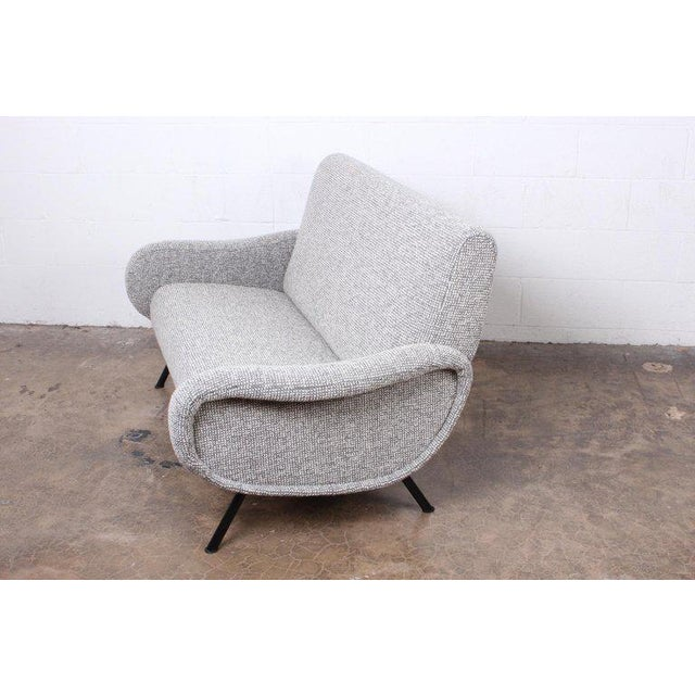 """1950s Marco Zanuso """"Lady"""" Settee For Sale - Image 5 of 8"""