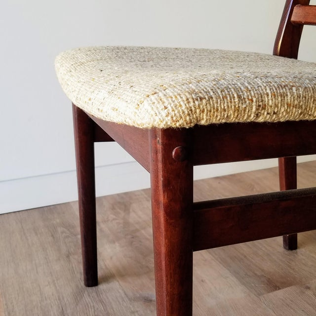Brown Danish Mid-Century Modern High Back Dining Chairs - Set of 8 For Sale - Image 8 of 13